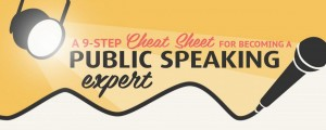 Cheatsheet for Becoming a Public Speaking Expert Infographic