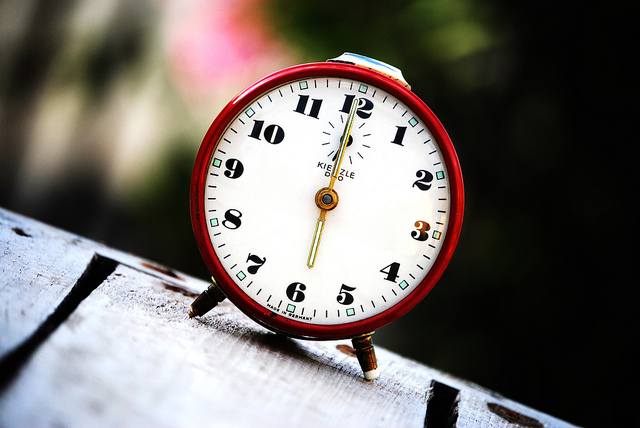 Time, Time, Your Next Speech Is All About Time